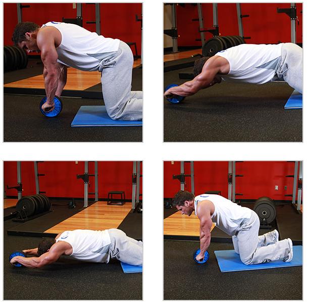 Buikspieren trainen thuis de fitness blog - Vloer roller ...